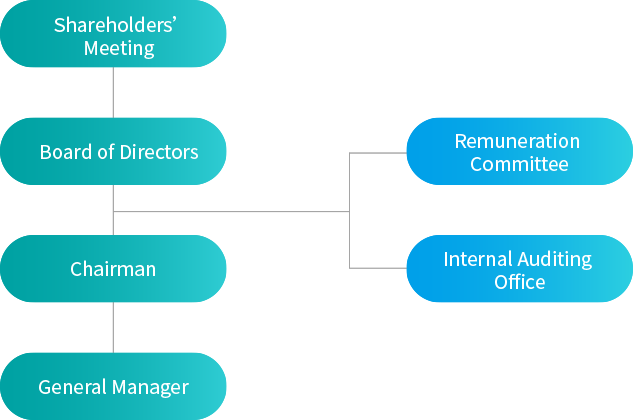 Corporate Operation Organizational Chart